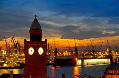 Hamburg harbor susnet
