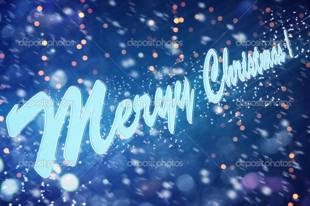 wünsche allen Frohe Weihnachten und frohes neues Jahr — Stockfoto ...
