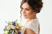 nevěsta s kyticí