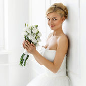 Fotografie Attractive bride with smile