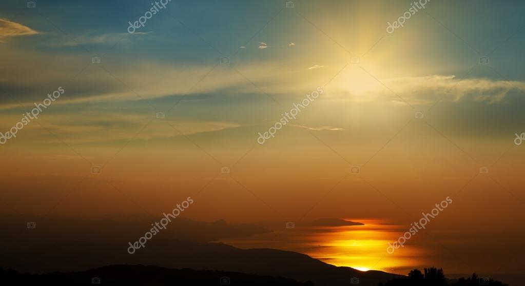 Seacoast at dawn