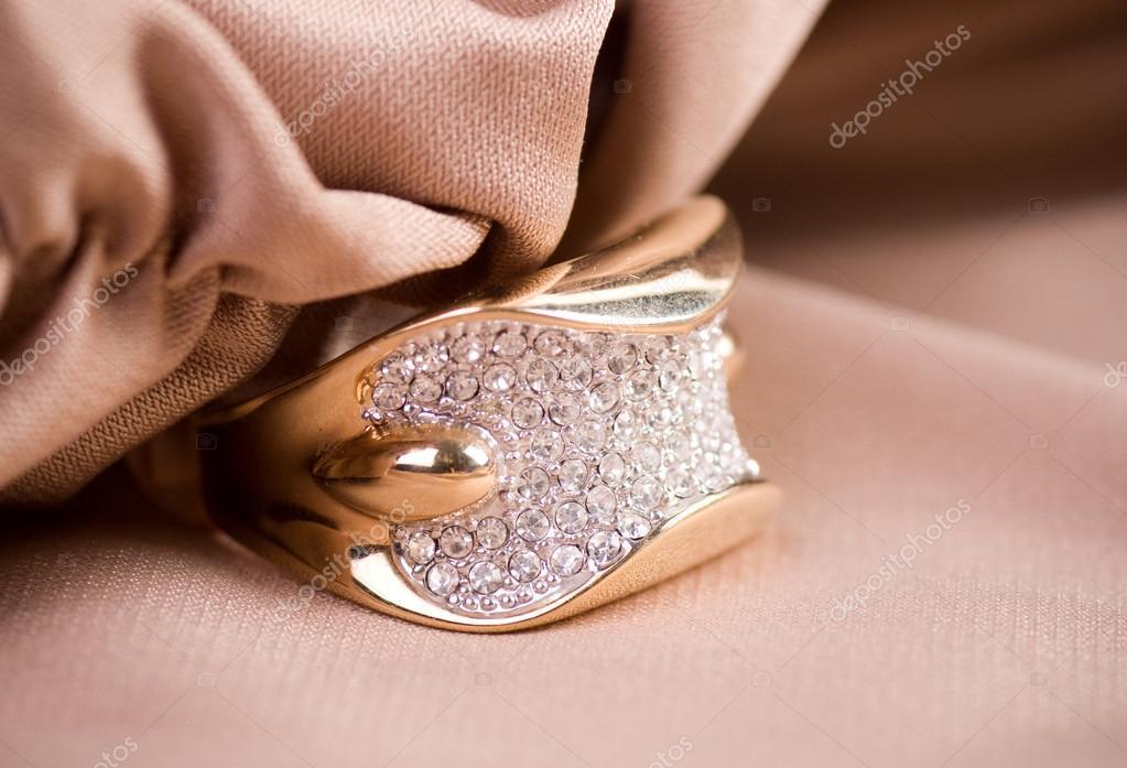 Beautiful jewelry on background — Stock Photo © Forewer #14680161