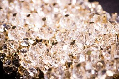 Crystals stock vector
