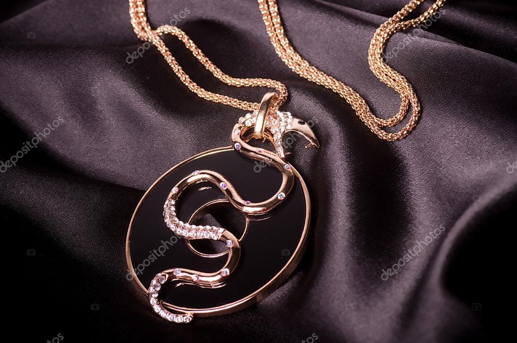 Beautiful jewelry on background — Stock Photo © Forewer #18944799