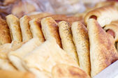 pečivo, pekárna closeup