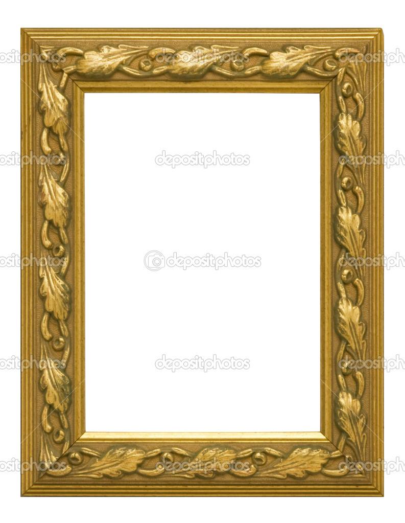 marco vertical oro antiguo — Foto de stock © Balefire9 #29737105