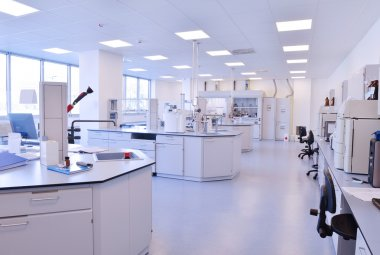 laboratory indoor