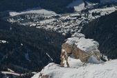 Fotografie Berg-Winter-Natur