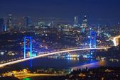 Photo Istanbul Turkey Bosporus Bridge