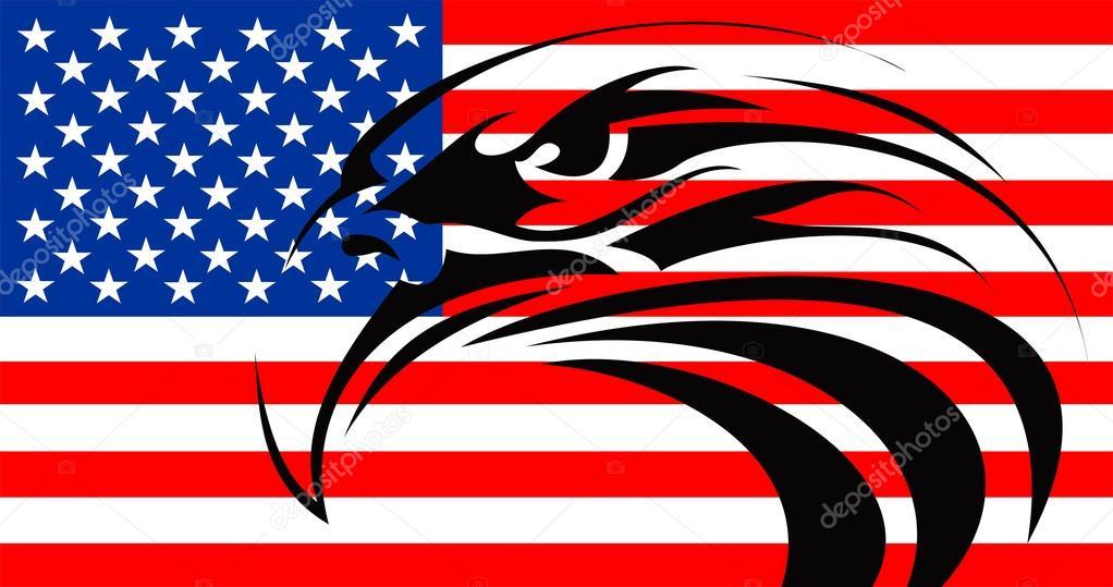 Usa Drapeau Aigle Tatouage Photographie Tony4urban C 36269255