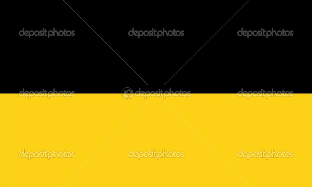 Baden Wurttemberg Almanya Bayrağı Stok Foto Tony4urban 42200137