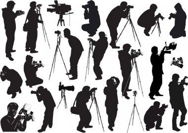 illustration with eighteen photographers