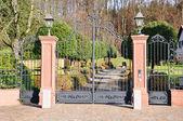 Fotografie Entrance of a luxury villa