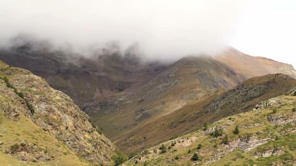 Španělsko vysoké hory na pirineus