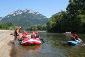 rafting na řece dunajec