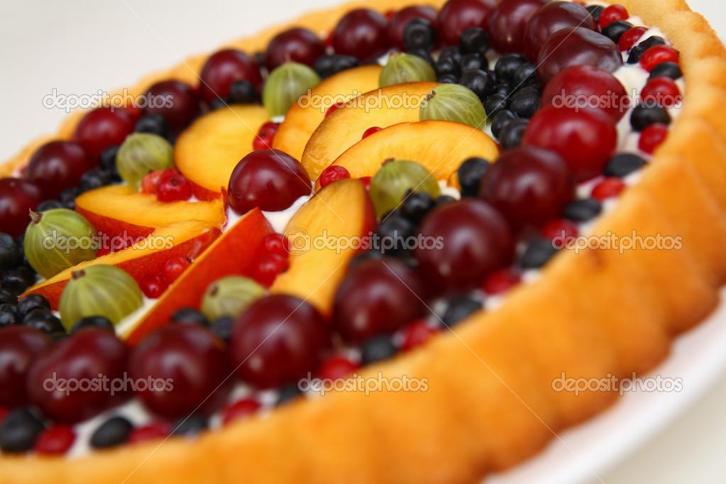 Fruchtige Kuchen Stockfoto C Gbh007 32732751