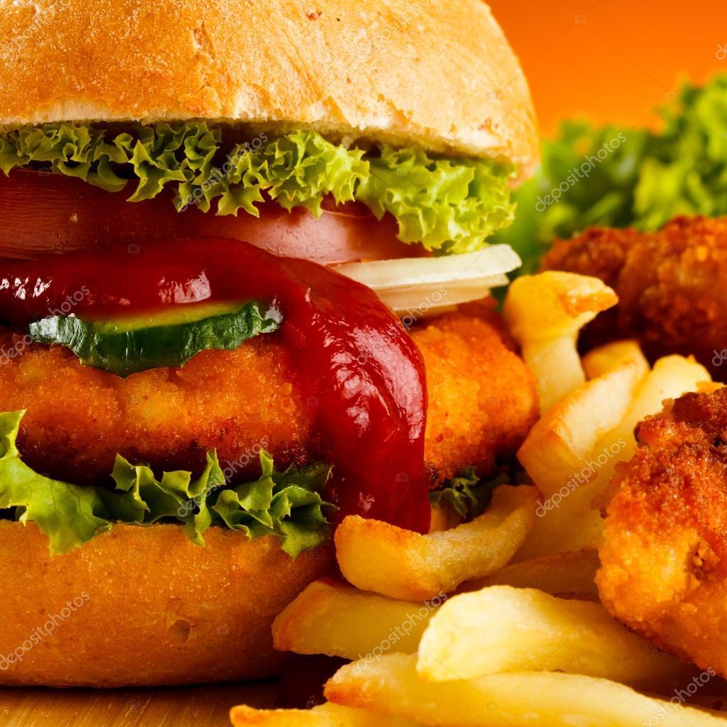 slamme eating fast food - HD1536×1536