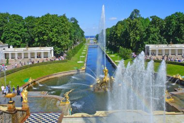 Peterhof, Grand cascade