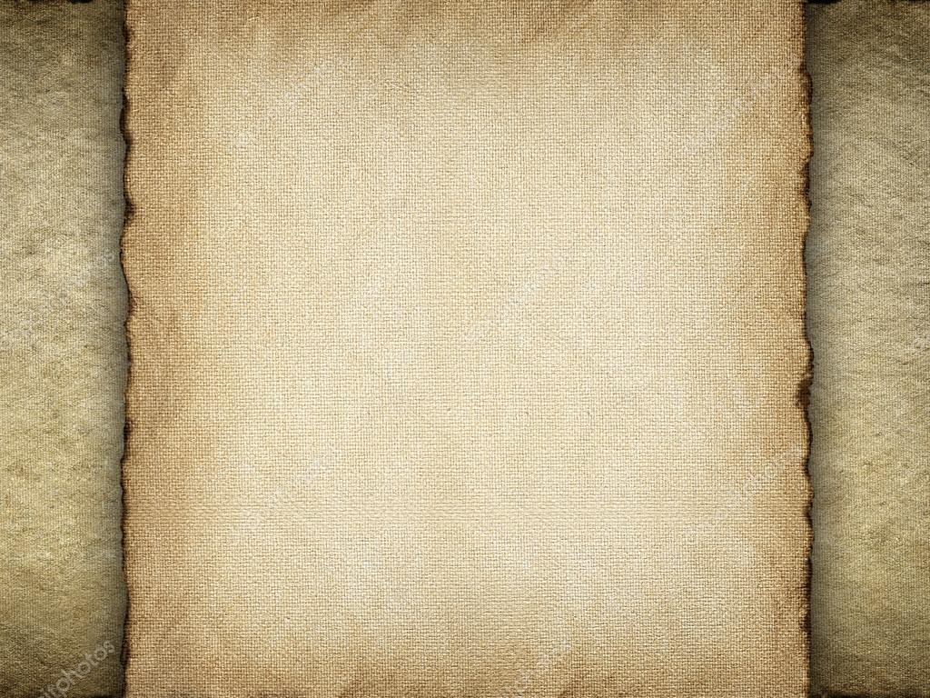 Paper sheet on canvas background