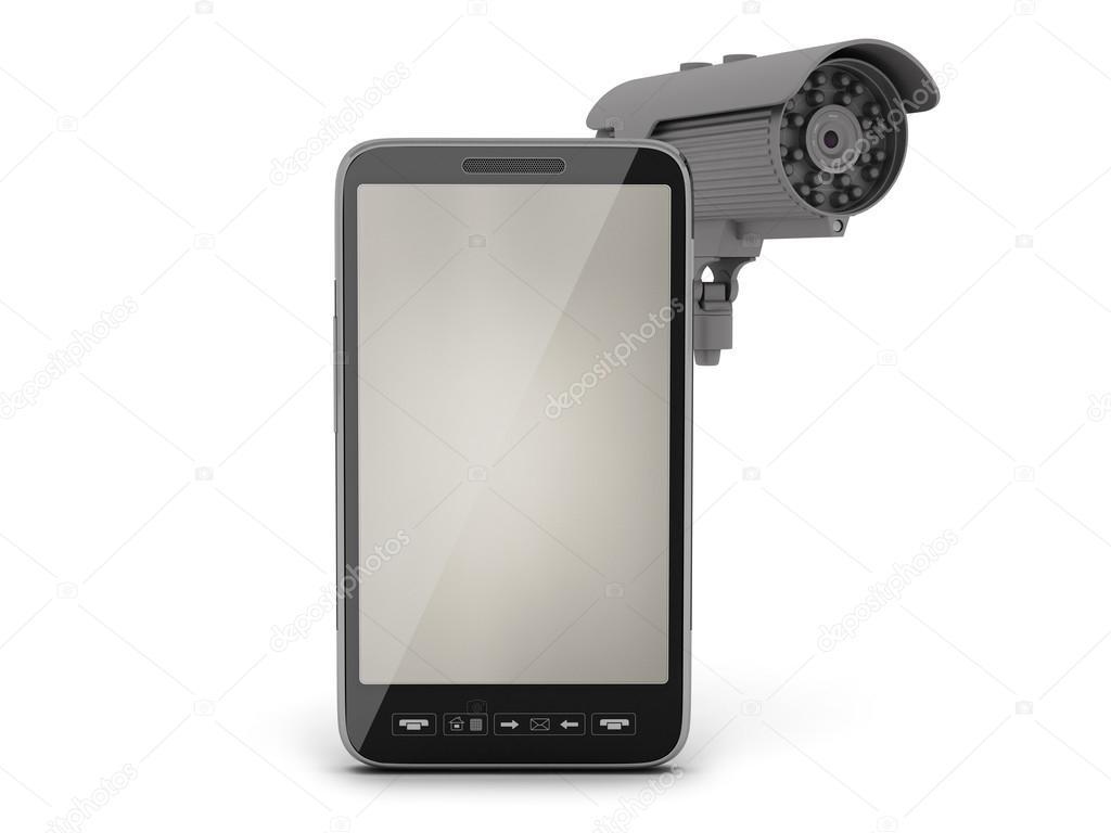 Kit CCTV téléphone DECT évolutif portée 200 mètres