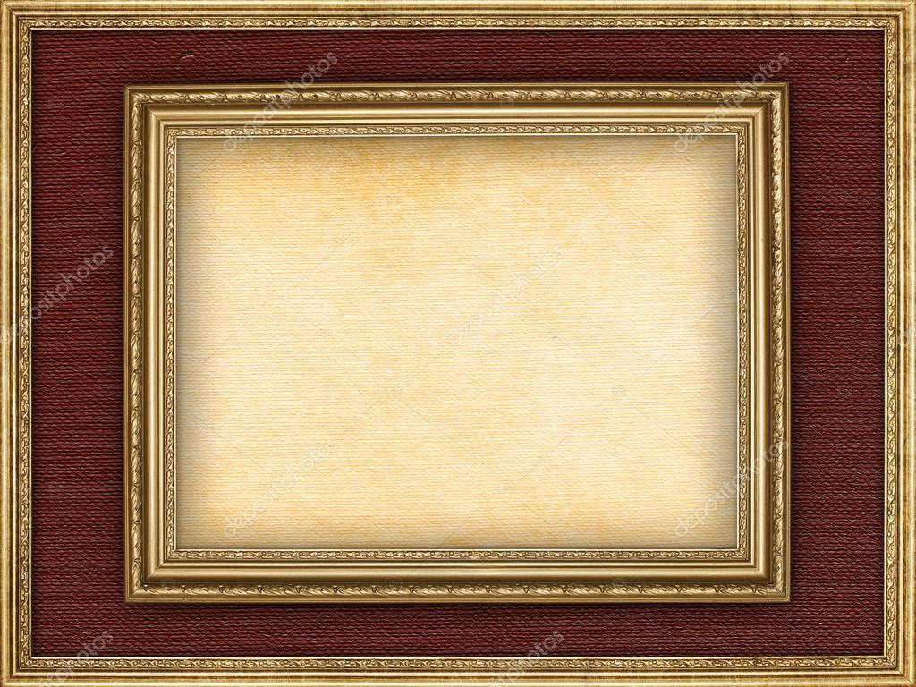 Blankopapier Blatt in Bilderrahmen — Stockfoto © digieye #35073129