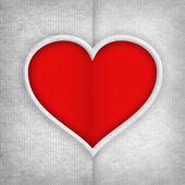 červená Valentýnské srdce