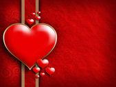 Valentýn - pozadí přání šablony