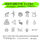 Photo Vector Doodle Icons