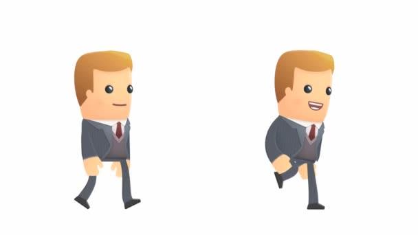 charakter chůze a běhu