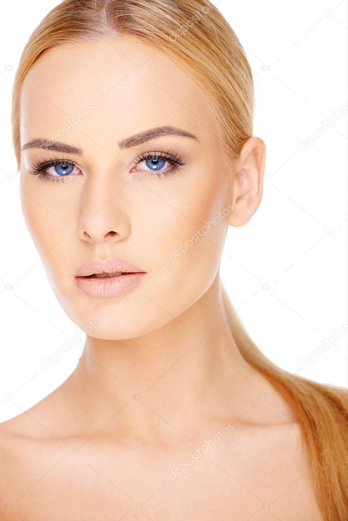 schöne nackte blonde Bilder