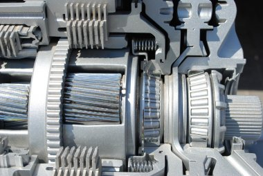 Section of the automatic transmission