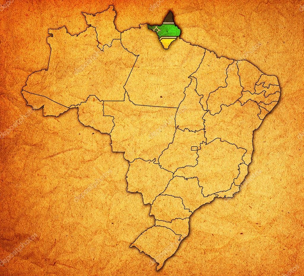 Redescobrindo o Brasil - Página 3 Depositphotos_41098477-stock-photo-amapa-state-on-map-of