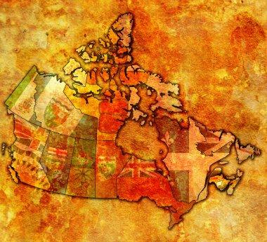 new brunswick on map of canada