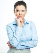 üzleti nő portréja