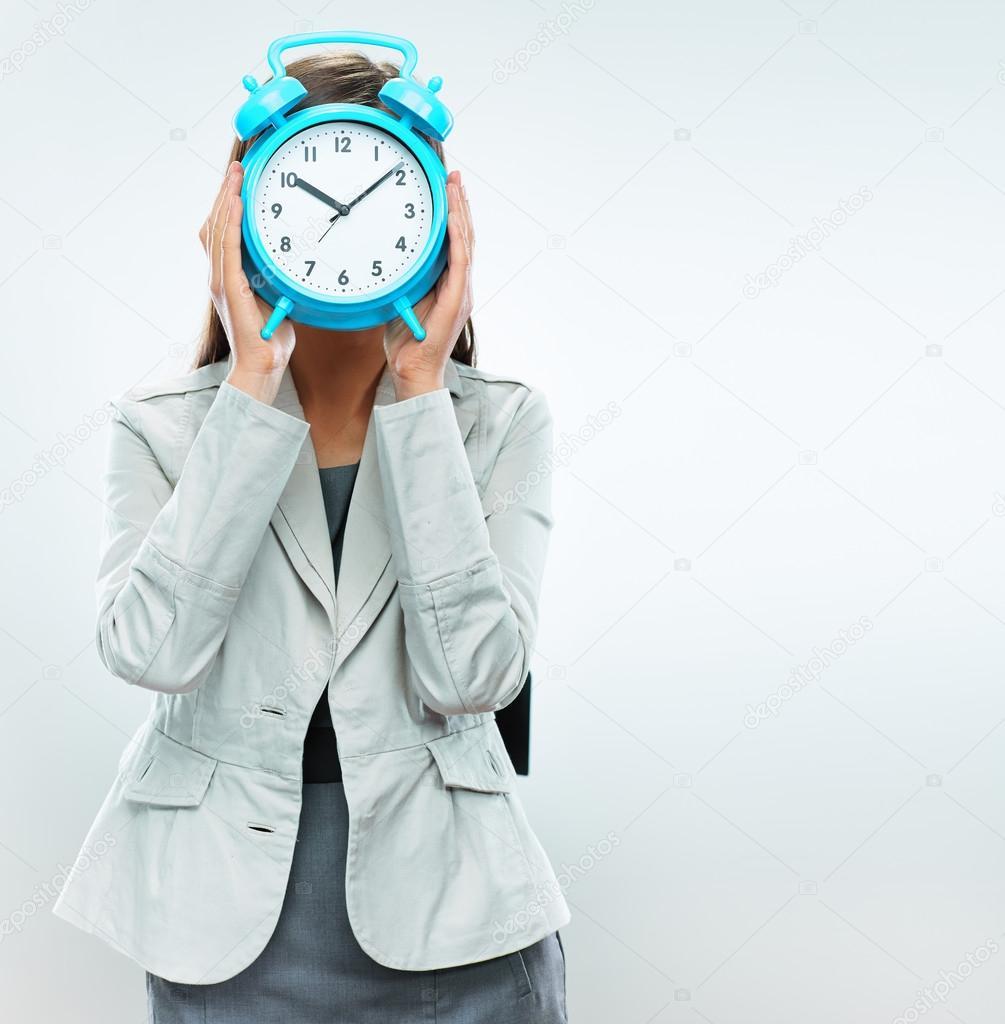 Time concept portrait