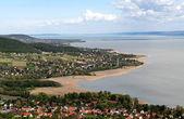 Panorama jezera Balaton, Maďarsko