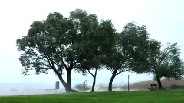 viharos lake balaton, Magyarország