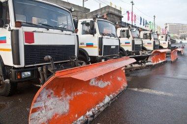 Municipal snow-removal technique