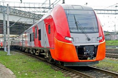 High-speed electric railway train