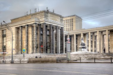Russian State Library, HDR