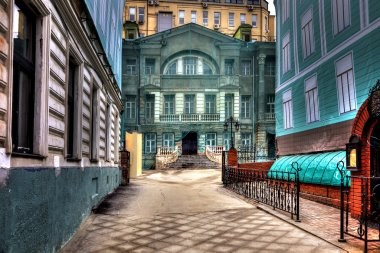 Moscow. Enchanted house. HDR