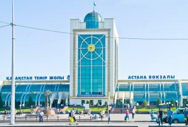 Astana. Railway station