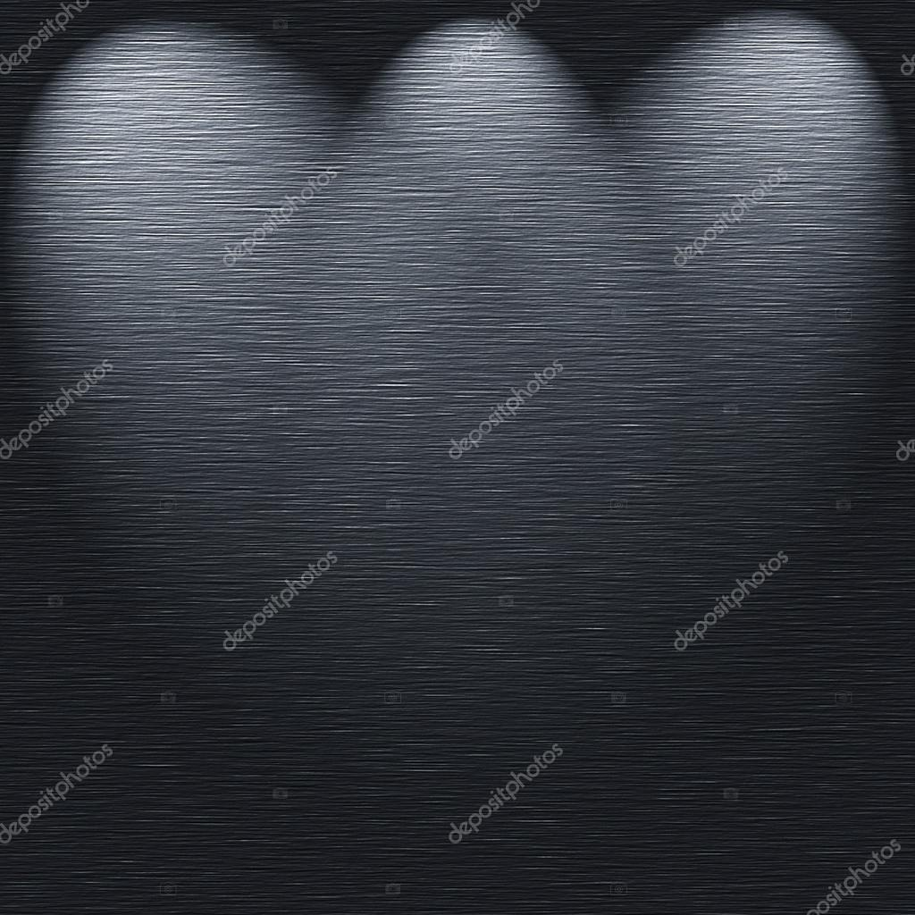 brushed metal texture template with light sources stock photo