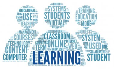 Learning concept in word tag cloud