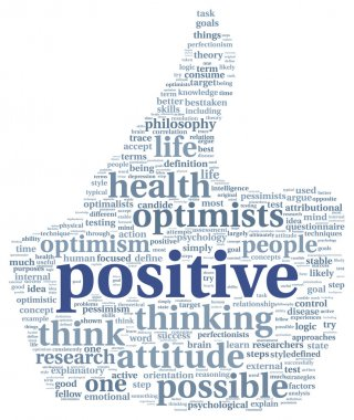 Positive concept in tag cloud