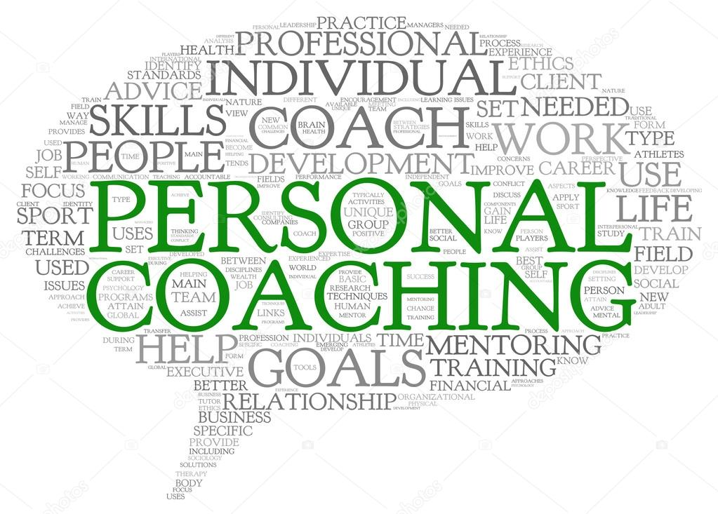 personal coaching concept related words — stock photo © olechowski