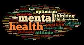 Mental health szó Címkefelhő