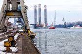 Fotografie Hafen im winter