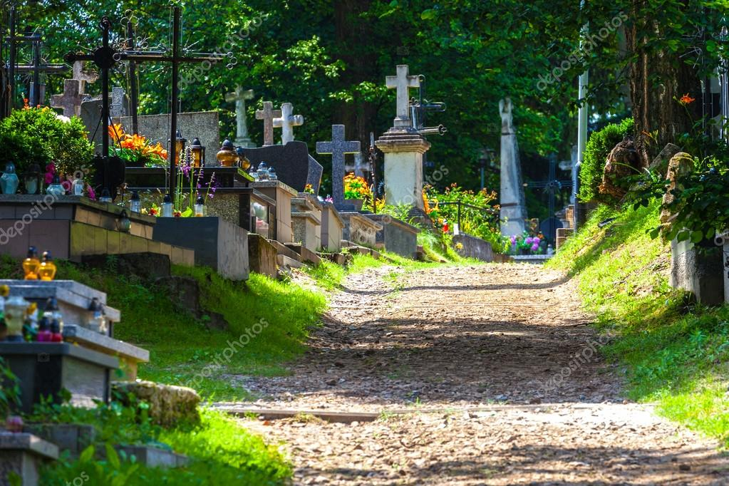 Фотообои Cemetery alley