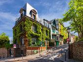 okouzlující ulicích Paříže